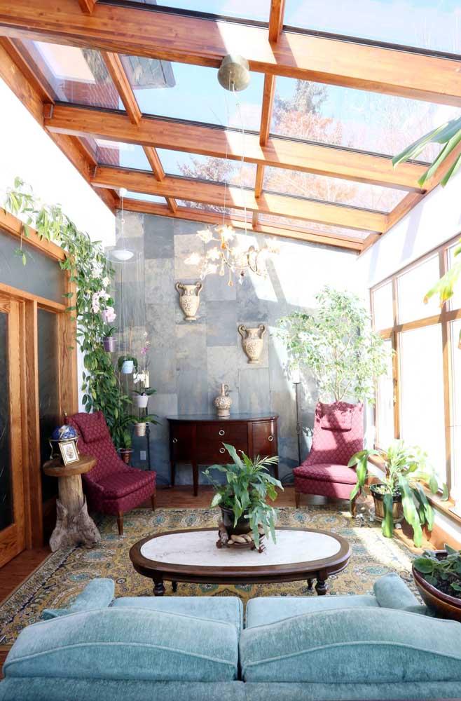 Quer ambiente mais refinado e sofisticado como esse? Perceba que os detalhes fazem toda a diferença na decoração.