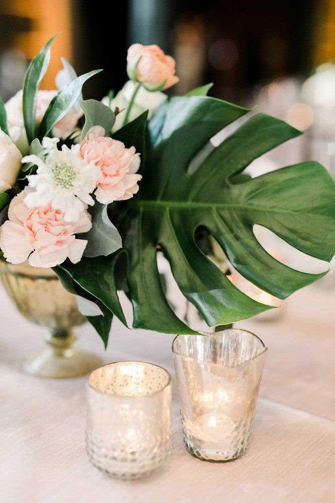 A Costela de Adão também está fazendo sucesso nas decorações de festas, como aniversários e casamentos
