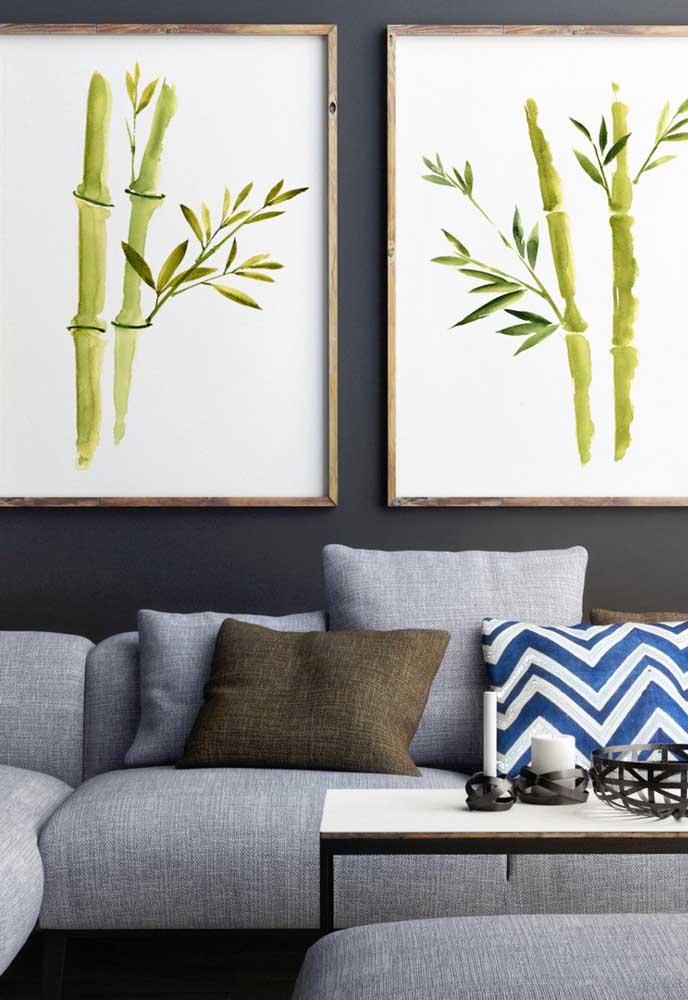 Mesmo as opções artificiais e artísticas do Bambu da Sorte podem trazer boas energias para a casa