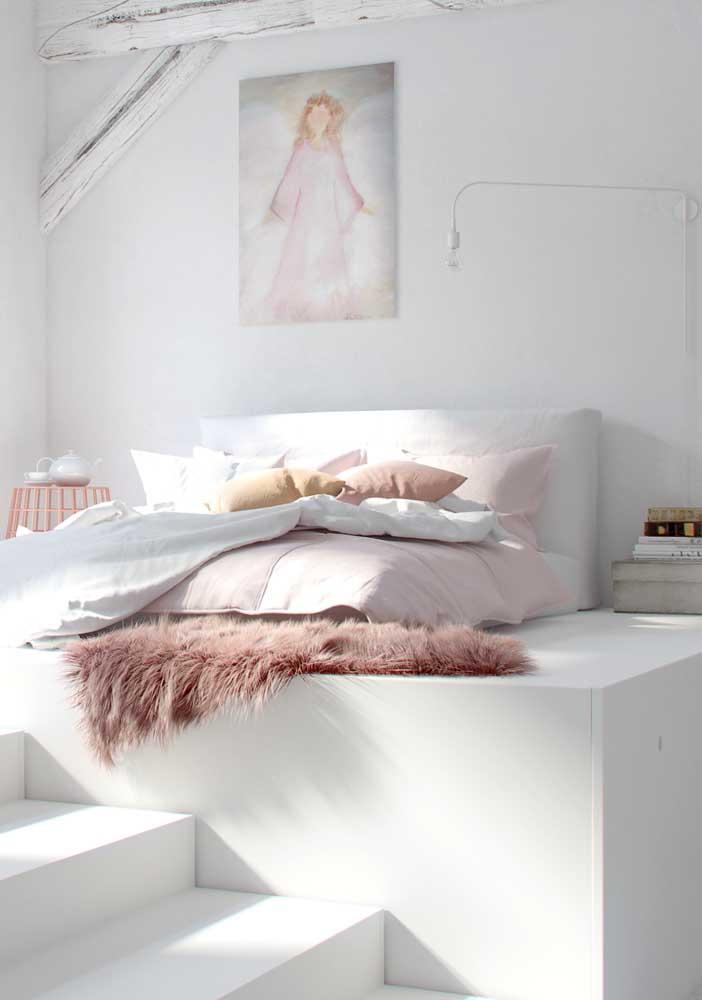 Se você deseja dormir tranquilamente, invista em um quarto branco.