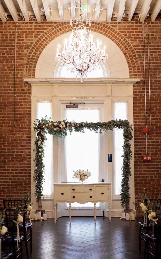 Casamento no civil simples e elegante, que pode ser todo montado no conceito DIY