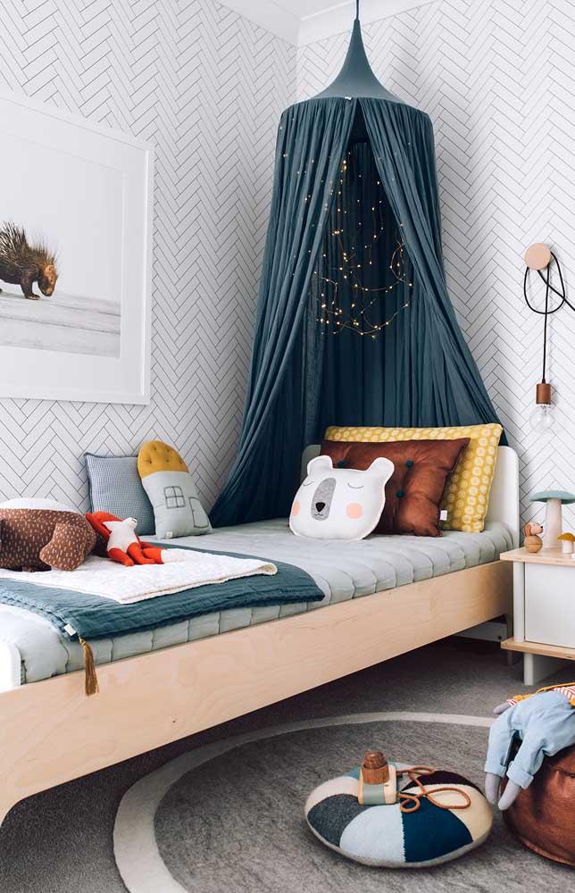 O quarto das crianças também deve receber uma atenção especial na hora de decorar, tudo para que a criança possa se desenvolver bem e feliz