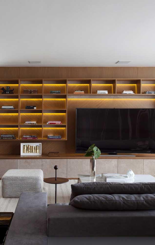 Um bom projeto de iluminação também faz diferença na casa decorada