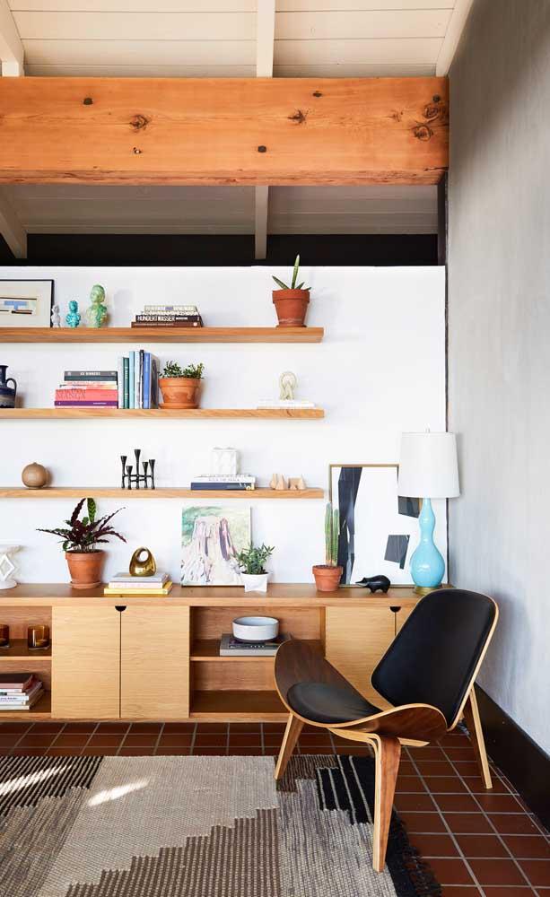 Combinar estilos e tendências é sempre uma boa pedida, se isso fizer sentido para você e sua casa