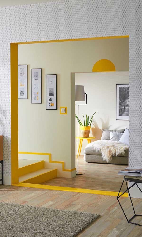 Que tal dar aquele toque de cor na casa decorada? Use-a de modo equilibrado, mas de forma que fique bem visível