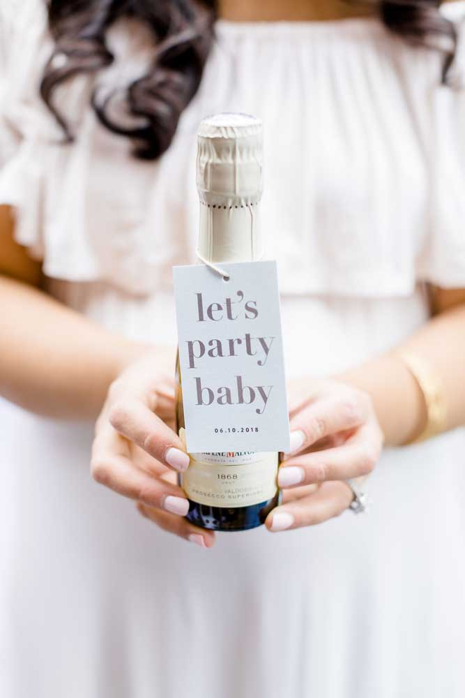 Vamos festejar a chegada do bebê!