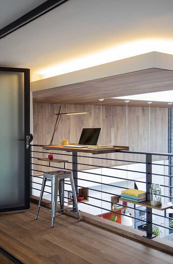 Mesa de escritório portátil e removível; gostou da ideia?