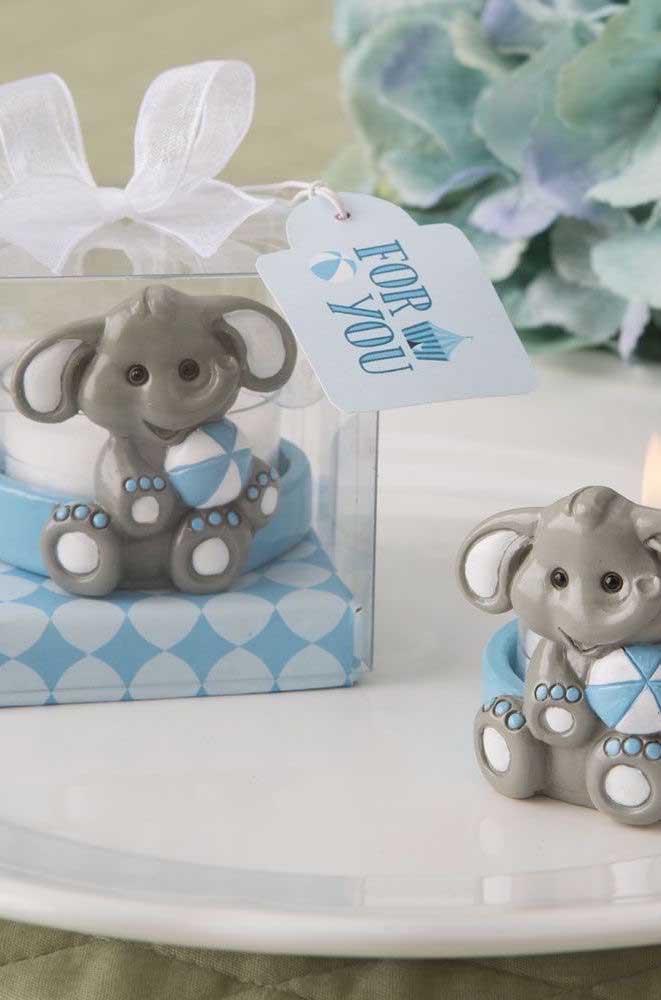 Elefantinhos super fofos para os convidados levarem para casa