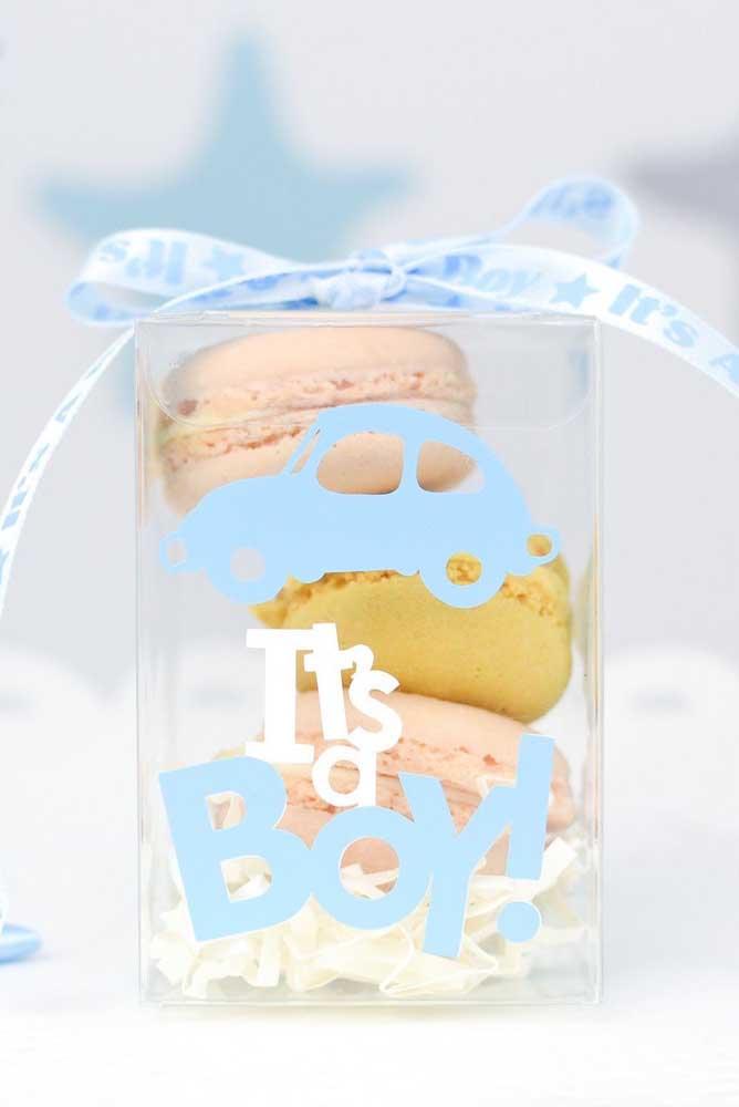 Macarons! Uma opção de lembrancinha comestível que os convidados vão amar