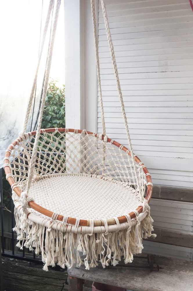 Que ideia linda para levar para sua varanda! Inspire-se