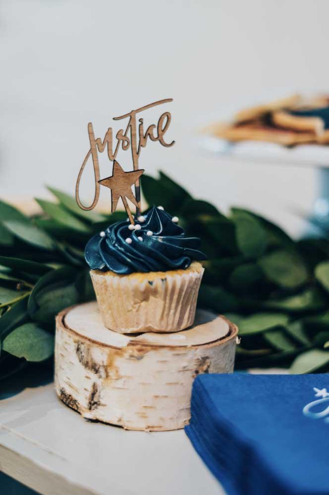 Um cupcake pode ser mais do que suficiente para o mesversário