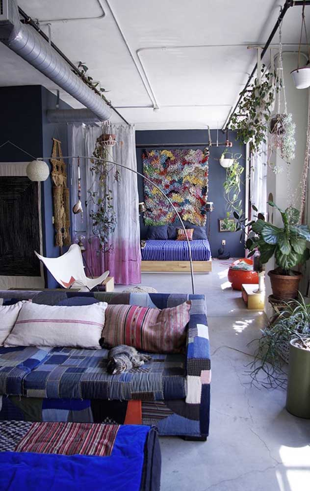Sofá revestido em patchwork: uma belezura para a sala de estar, perfeito para propostas descontraídas, rústicas e modernas de decor