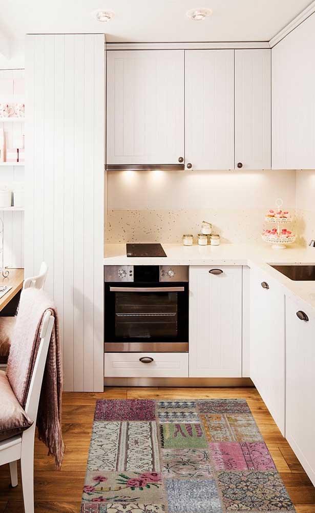 Passadeira de cozinha em patchwork, outro clássico de uso da técnica