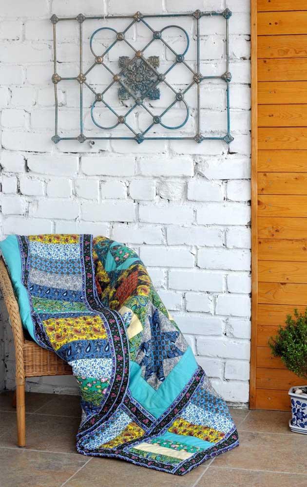 Rusticidade e patchwork são dois lados da mesma moda
