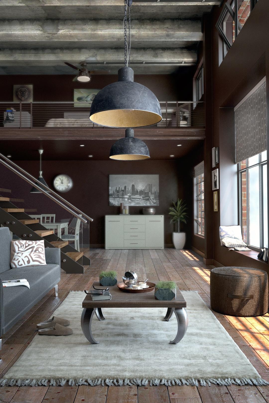 O puff não precisa ser colocado no centro da sala de estar. Na verdade, o mais indicado é colocá-lo próximo da parede.