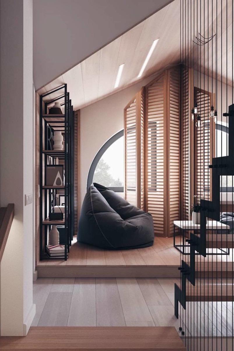 O que acha de investir em um puff gigante redondo para decorar a sua casa e deixar o ambiente mais confortável?