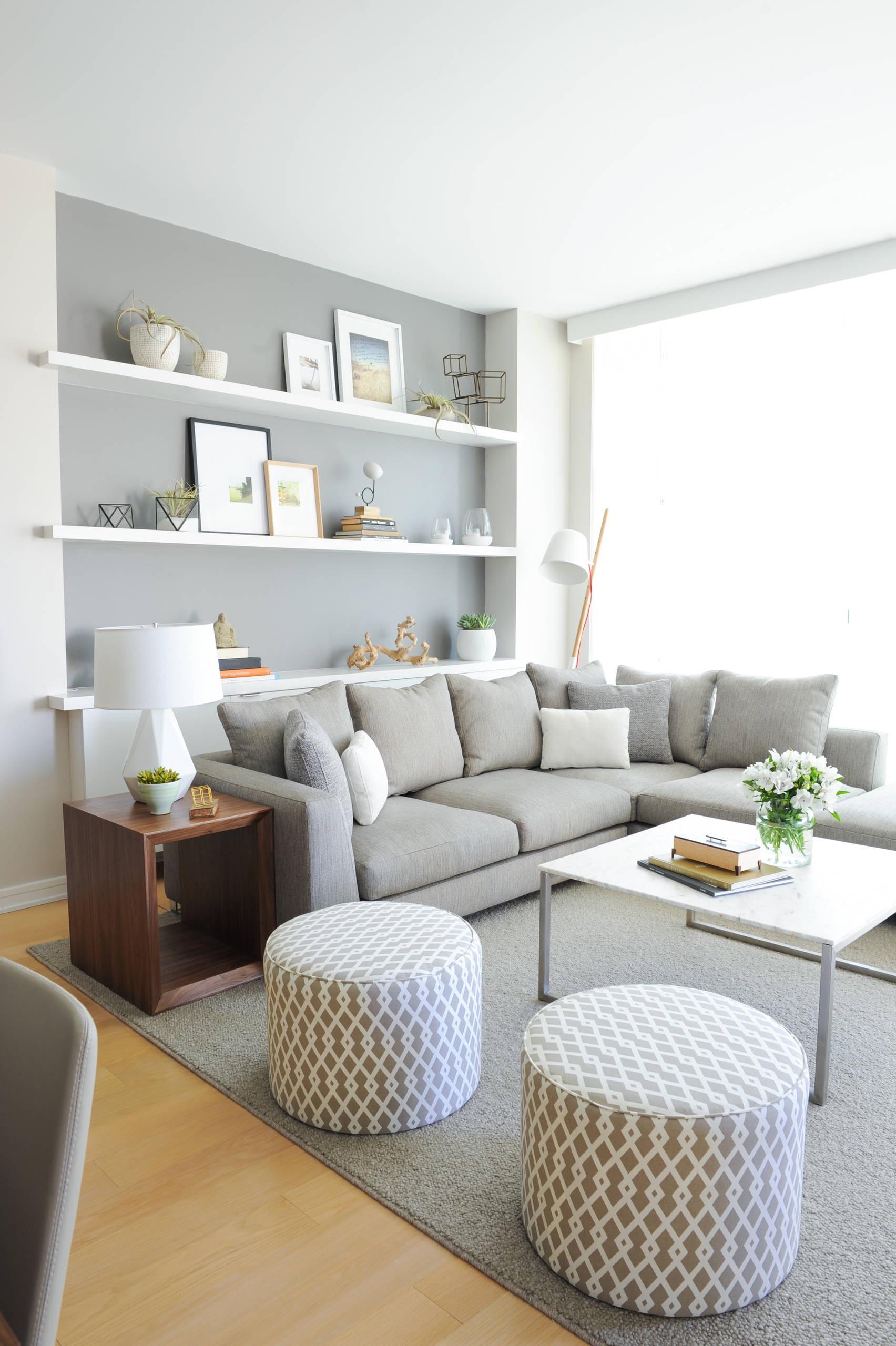 Se você tem espaço em casa, coloque mais de um puff que combine com a decoração.