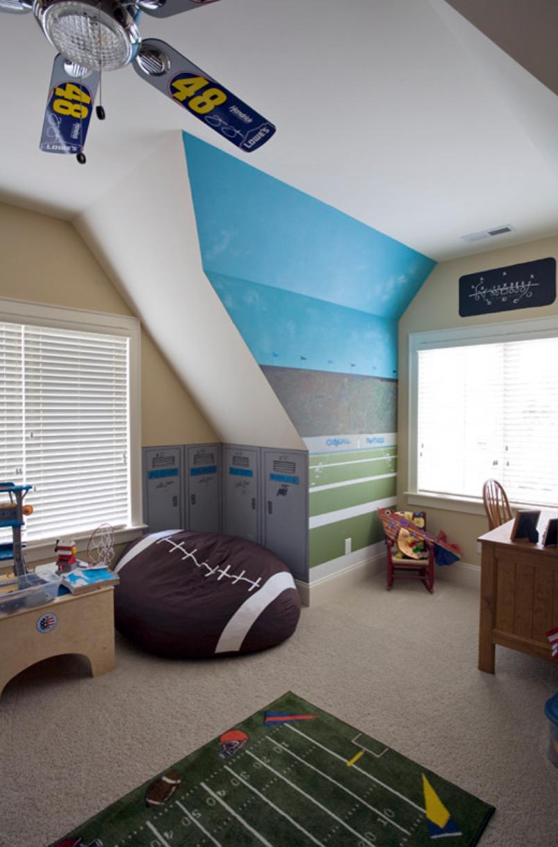 Para decorar o quarto das crianças, escolha puff personalizados de acordo com o tema do ambiente.