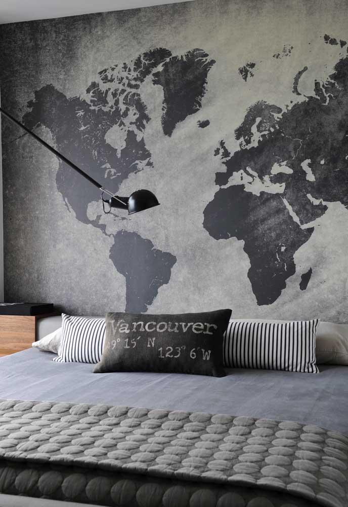 O que acha de colocar na parede do quarto aquilo que mais inspira você?