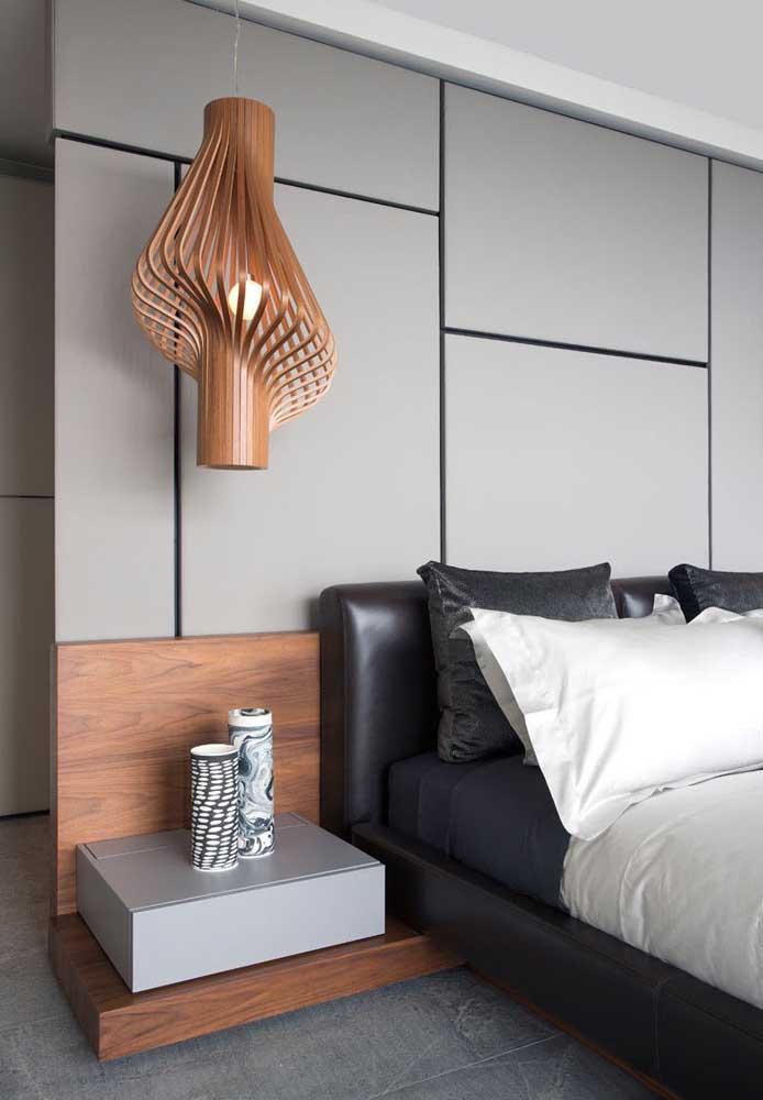 Use diferentes tons de cinza na hora de fazer a decoração do quarto.