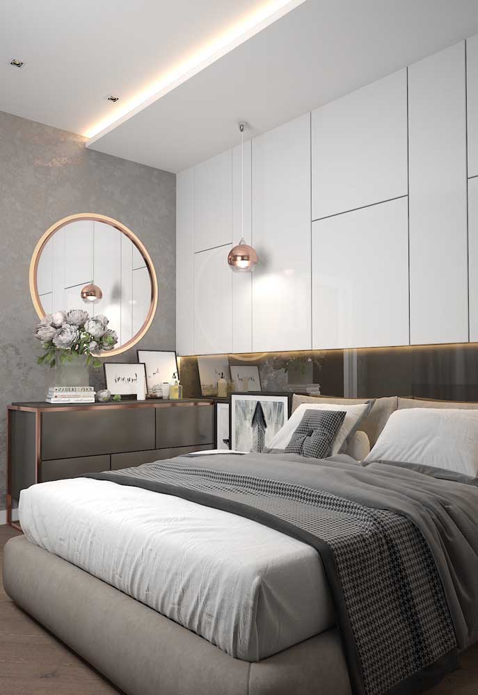 Quem não quer um quarto que além de confortável seja charmoso?