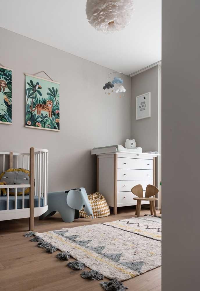 O quartinho do bebê merece toda a atenção na hora da decoração.