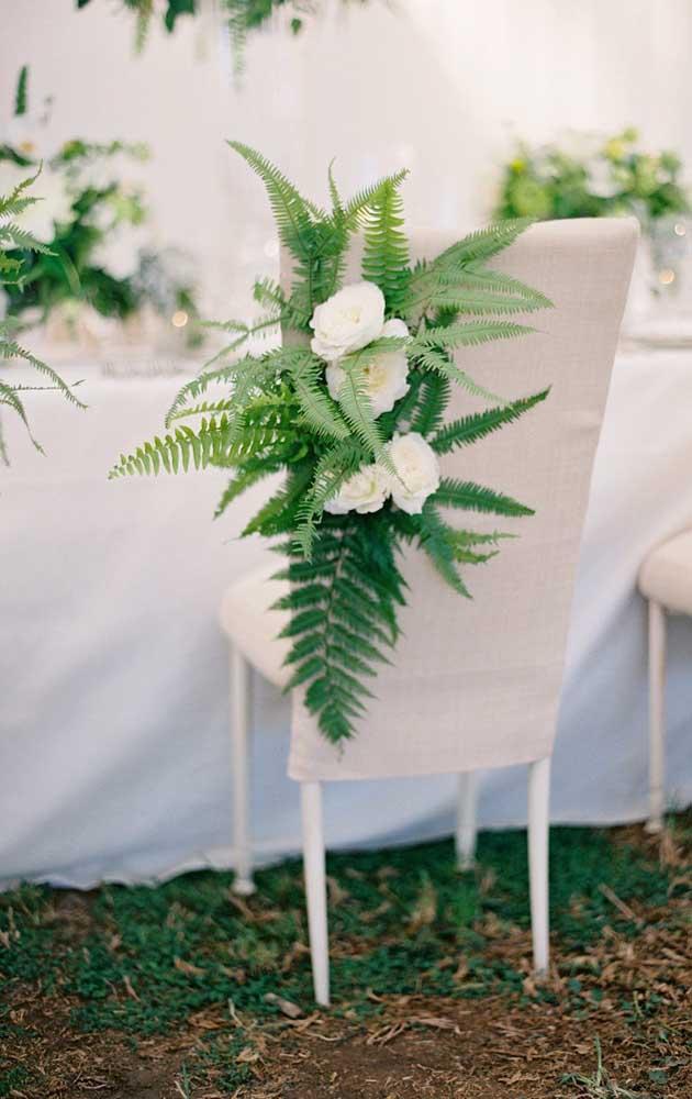 Samambaia na decoração de casamento: aposte nessa ideia!