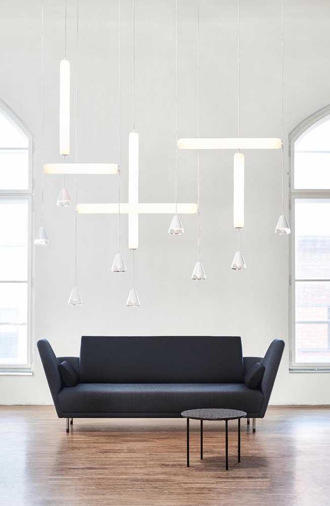 Moderno, minimalista e preto