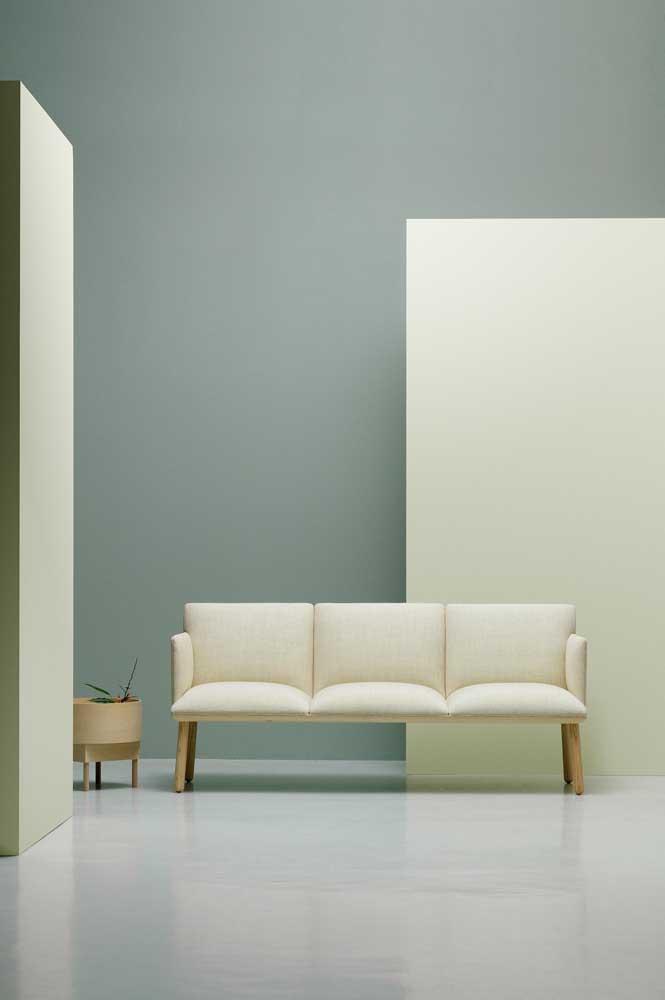 Ambientes minimalistas são a cara dos sofás modernos