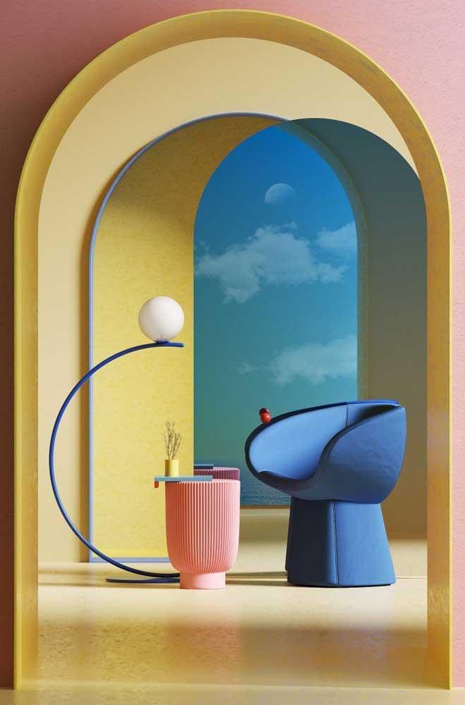 Quer uma combinação perfeita para a decoração da sua casa? Use o azul e amarelo.