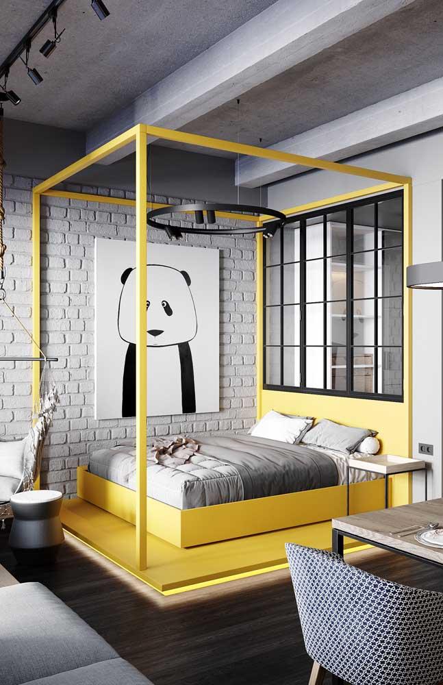 Quem não deseja dormir em um ambiente totalmente descontraído?