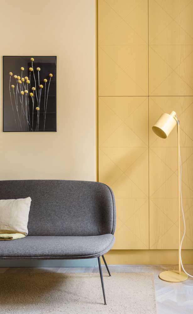 Na paleta de cores amarelo você pode encontrar o tom perfeito para cada cômodo.