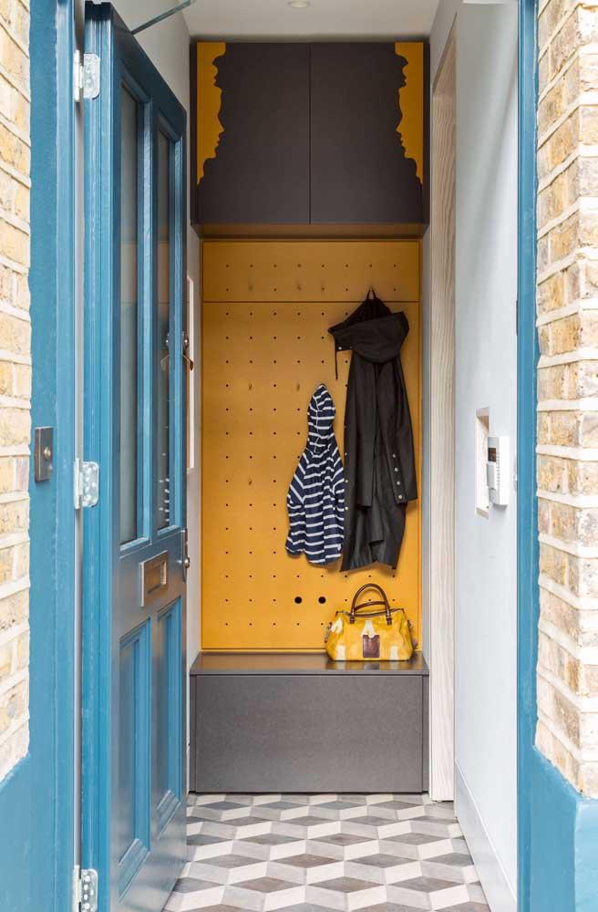 Reserve um cantinho amarelo para decorar a sua casa.