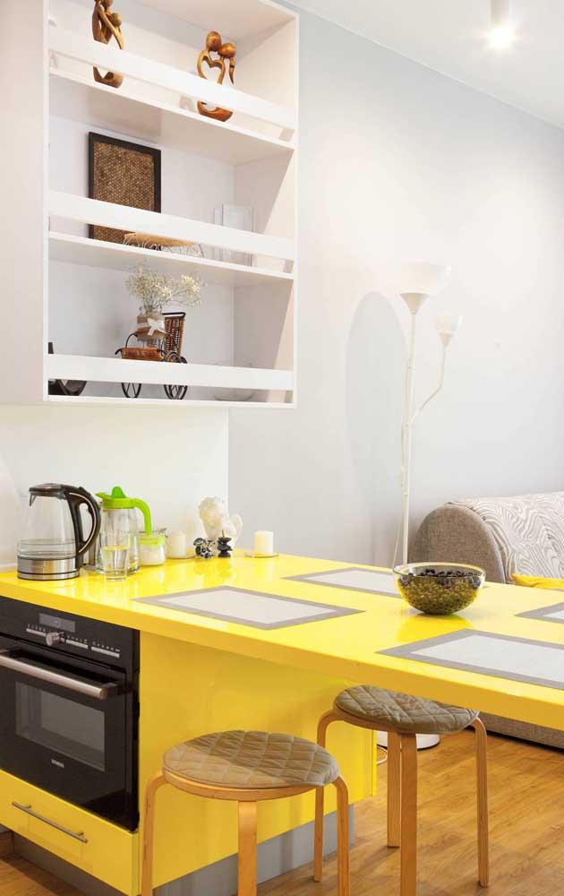 Veja como é possível apostar em eletrodomésticos na cor amarela.