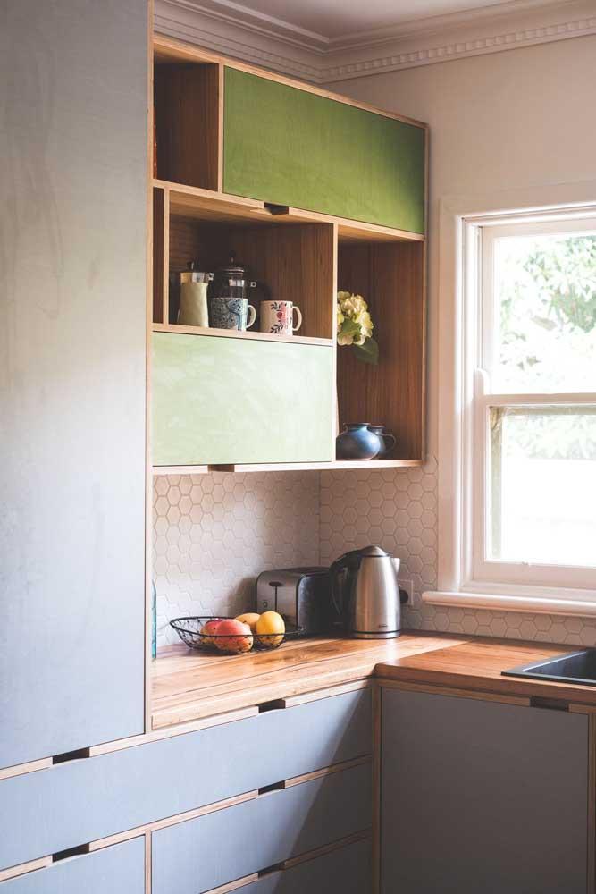 Bancada de madeira: uma bela aposta para sua cozinha