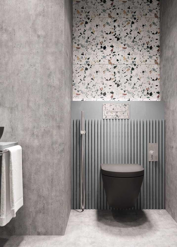 Cimento queimado e granilite: duas tendências de revestimento que vale a pena apostar se você deseja ter um banheiro moderno