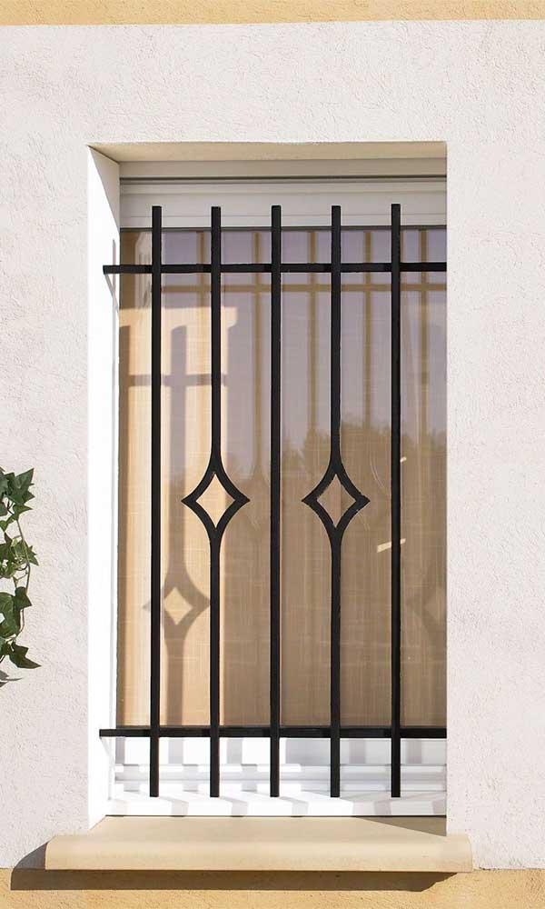 Simples detalhes que fazem toda a diferença na estética da grade da janela