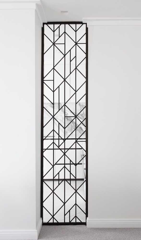 Linda inspiração de grade para janela com desenhos modernos