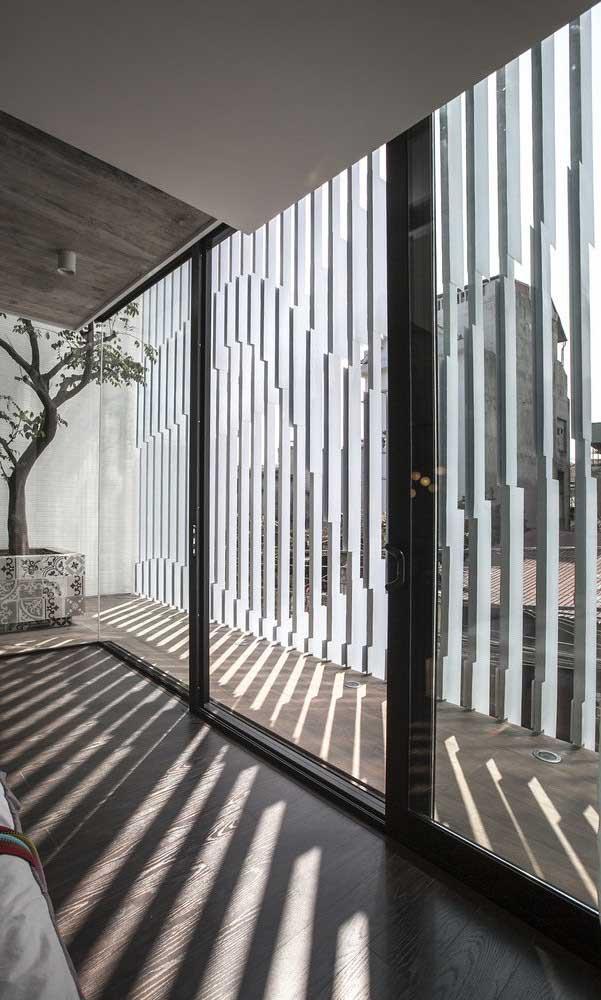 Essa grade para janela é o exemplo perfeito de como sempre é possível inovar e criar projetos incríveis