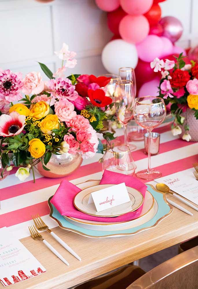 Faça um jantar dia dos namorados caprichado para a pessoa que você ama.