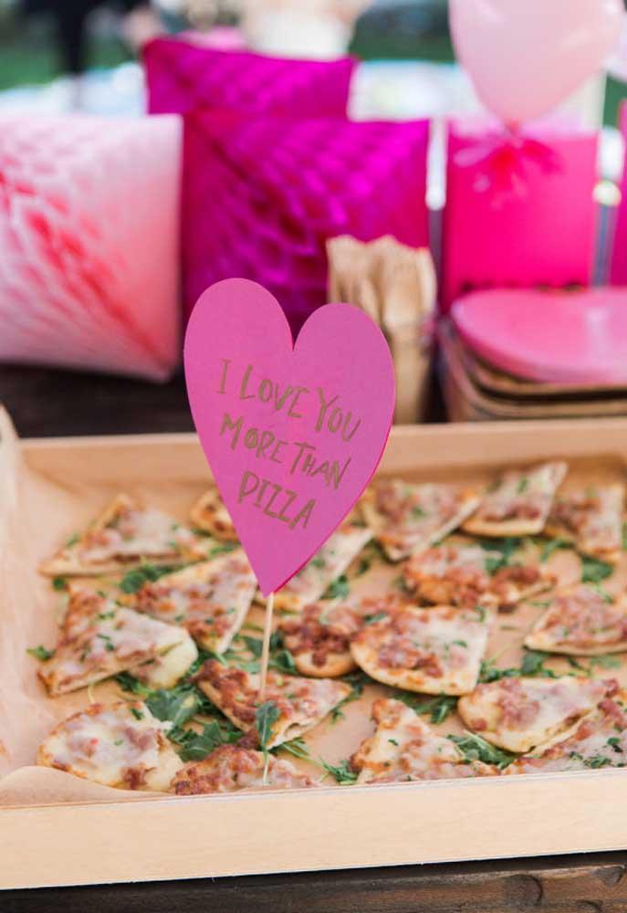 O que acha de pedir pizza no dia dos namorados?