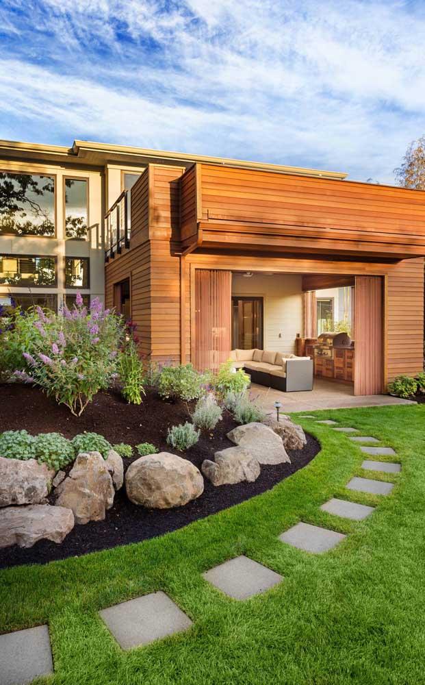 As pedras podem se tornar um dos principais elementos do seu jardim