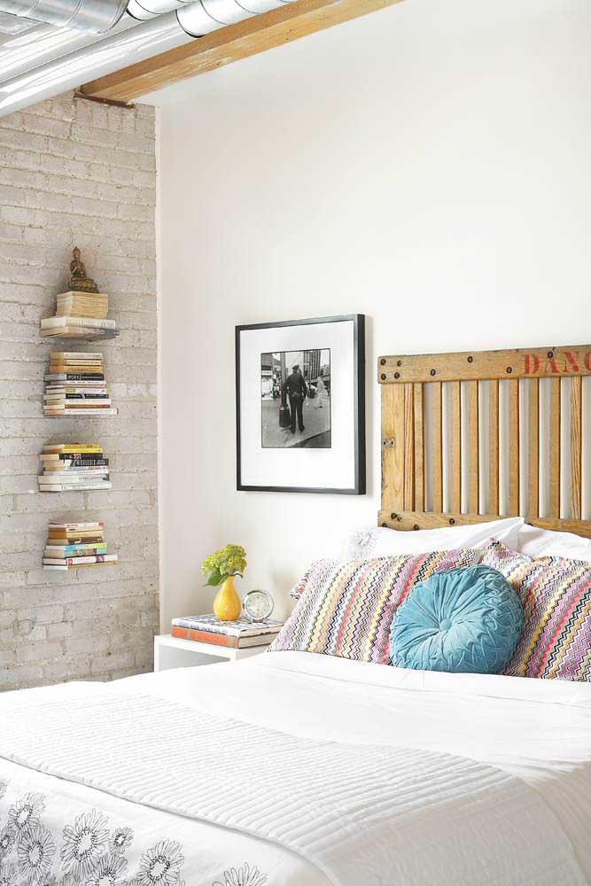 Prateleira invisível para livros: uma excelente e criativa maneira de decorar o quarto