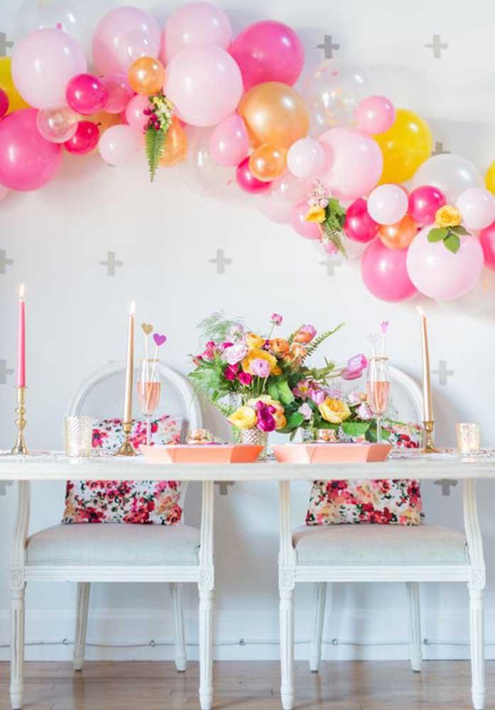 Faça uma decoração diferenciada para surpreender seu (sua) namorado (a) no dia dos namorados.