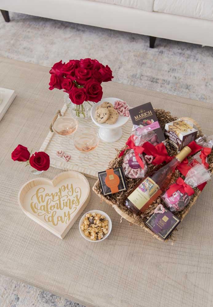 Já pensou em presentear o seu amor com uma caixa surpresa para namorado?