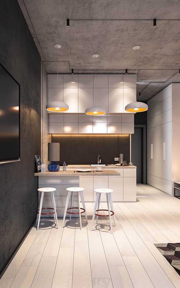 Que tal fazer um armário de cozinha planejado para apartamento pequeno?