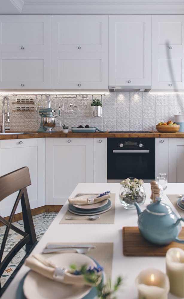 Já escolheu o seu estilo de armário de cozinha planejado?