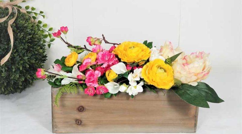 Arranjos de flores artificiais: 60 modelos, fotos e tutoriais
