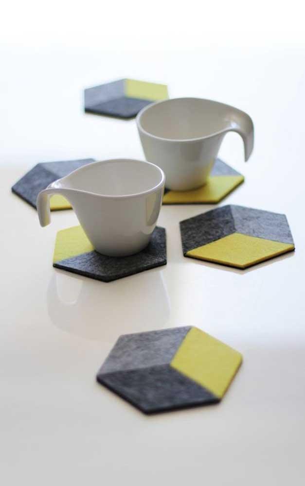 Olha que opção de artesanato para vender perfeita para oferecer em cafés e restaurantes.