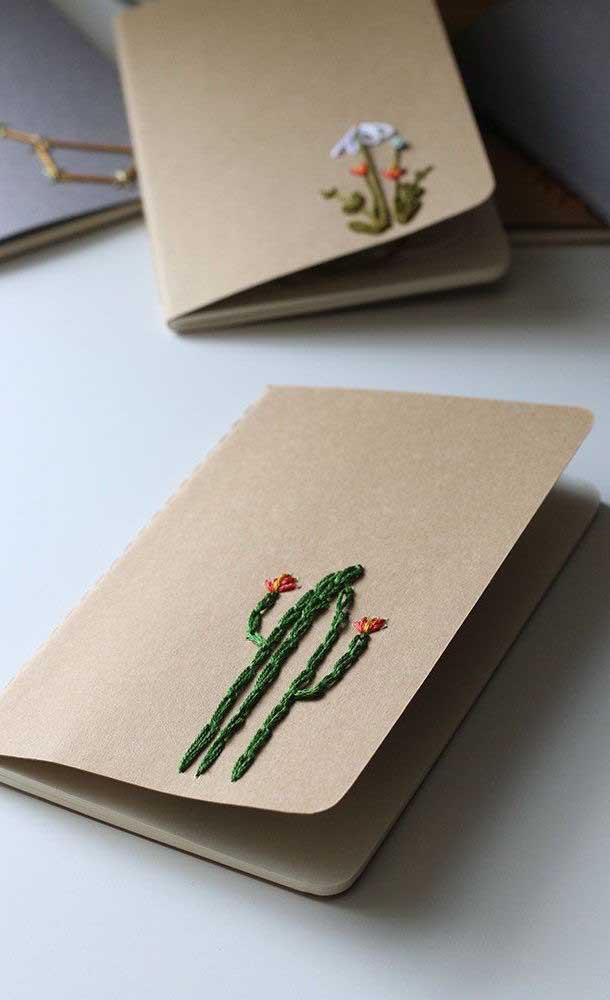 O bordado é uma das melhores formas de artesanato para vender.